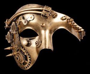 Steampunk Maschera Meccanico Faccia Gotico Accessori Futuristico