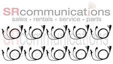 QTY 10 Earbud Headset Motorola XPR6100 XPR6300 XPR6350 XPR6500 XPR6550 XPR6380