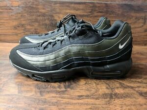 half off 44dfc 2e22c Details about Brand New Nike Air Max 95 Essential Men's Size 11.5 Black  White Sequoia