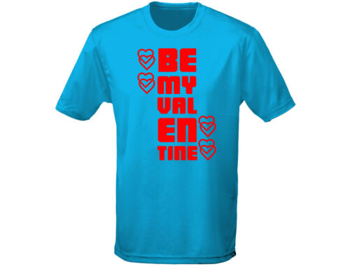 12 Colours Be My Valentine Mens Funny T-Shirt