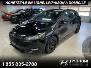 2016 Ford Focus SE + GARANTIE + CAMERA + A/C + CRUISE!!