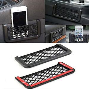 Black-Auto-Car-Storage-Mesh-Resilient-String-Bag-Holder-Pocket-Organizer-Large