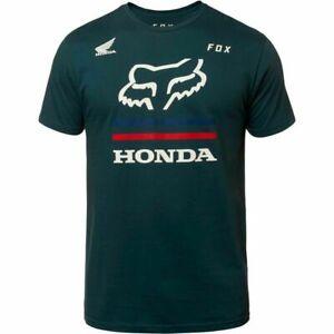 Fox-Racing-Honda-Premium-Men-039-s-T-Shirt-Tee-Navy-M-L-XL-XXL-NEW