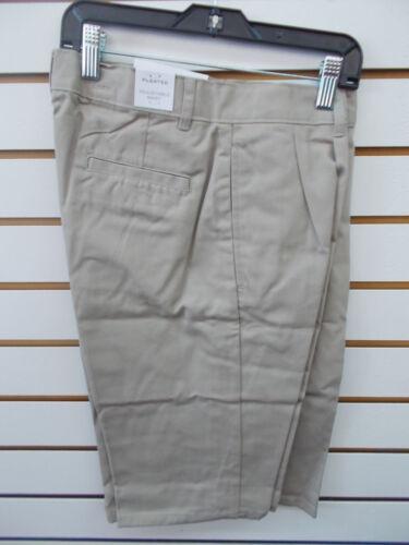 Waist Shorts Size 8-18 Boys IZOD $30 Navy or Khaki Uniform//Casual Pl Ft Adj