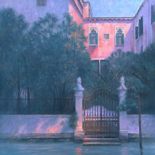 """Hermoso Y Original Marca Harrison """"Castello jardín"""" Venecia Italia Pintura"""