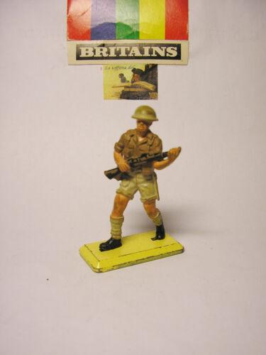 soldatino Toy Soldier Britains Deetail LTD 1971 Fante Desert Rats sc.1:32