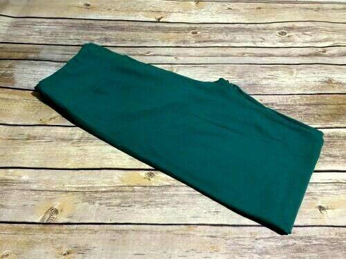 L//XL Lularoe Kids Leggings Solid Pine Green NWT 338894