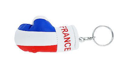 Keychain Mini boxing gloves key chain ring flag key ring cute CAMBODIA CAMBODIAN
