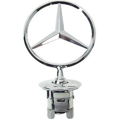 Mercedes Benz Symbol >> For Benz W204 W211 W212 W221 Front Hood Star Emblem Chrome Symbol Badge Genuine 634301080548 Ebay