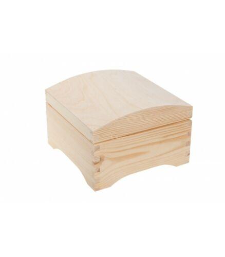 elegante Holzkiste mit Deckel Koffer Box Holzkoffer Holzbox Kiste 20 x 20