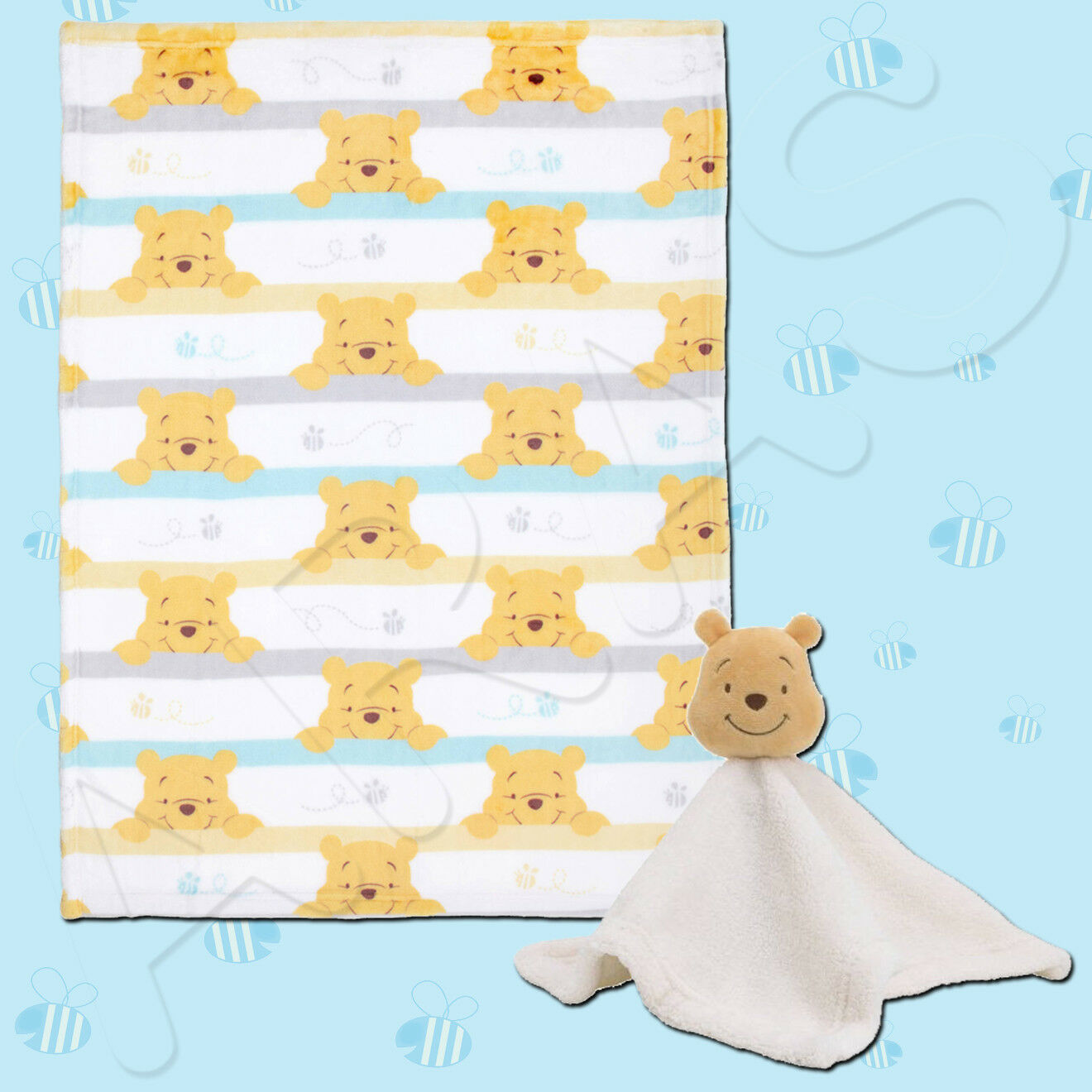 Winnie the Pooh Together Forever 2pk Fitted Crib Sheet by Disney Baby