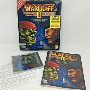Warcraft II Tides of Darkness for PC 1995 Game of the Year