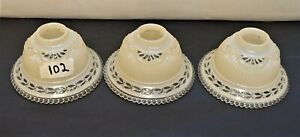 Antique-Art-Deco-Slip-Glass-Shades-set-of-3