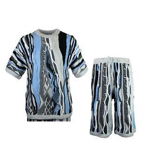 Conjunto pantalones suéter de de piezas de cortos hombres dos para rrw1xCS