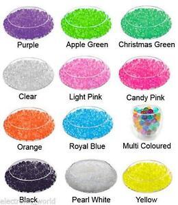 Expanding water crystal soil gel ball beads wedding vase for Diy bio balls