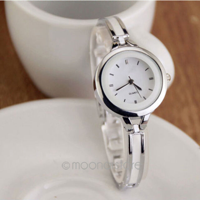 Fashion Elegant Princess Womens Ladies Quartz Analog Bracelet Wrist Watch BGBU