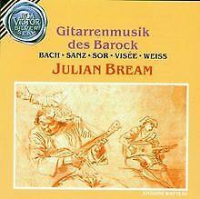 Gitarrenmusik-des-Barock-von-Julian-Bream-CD-Zustand-gut