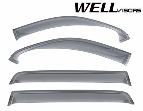 For 07-UP Toyota Tundra Crew Max WellVisors Side Window Visors Off-Road Series