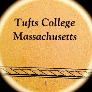 "1929 TUFTS COLLEGE/UNIVERSITY YEARBOOK"" Jumbo~VERY fine, used condition {MASS}"