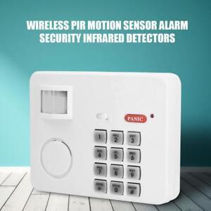 Alarme-Sans-Fil-Capteur-IR-Infrarouge-Detecteur-Mouvement-Sirene-Garage-Maison