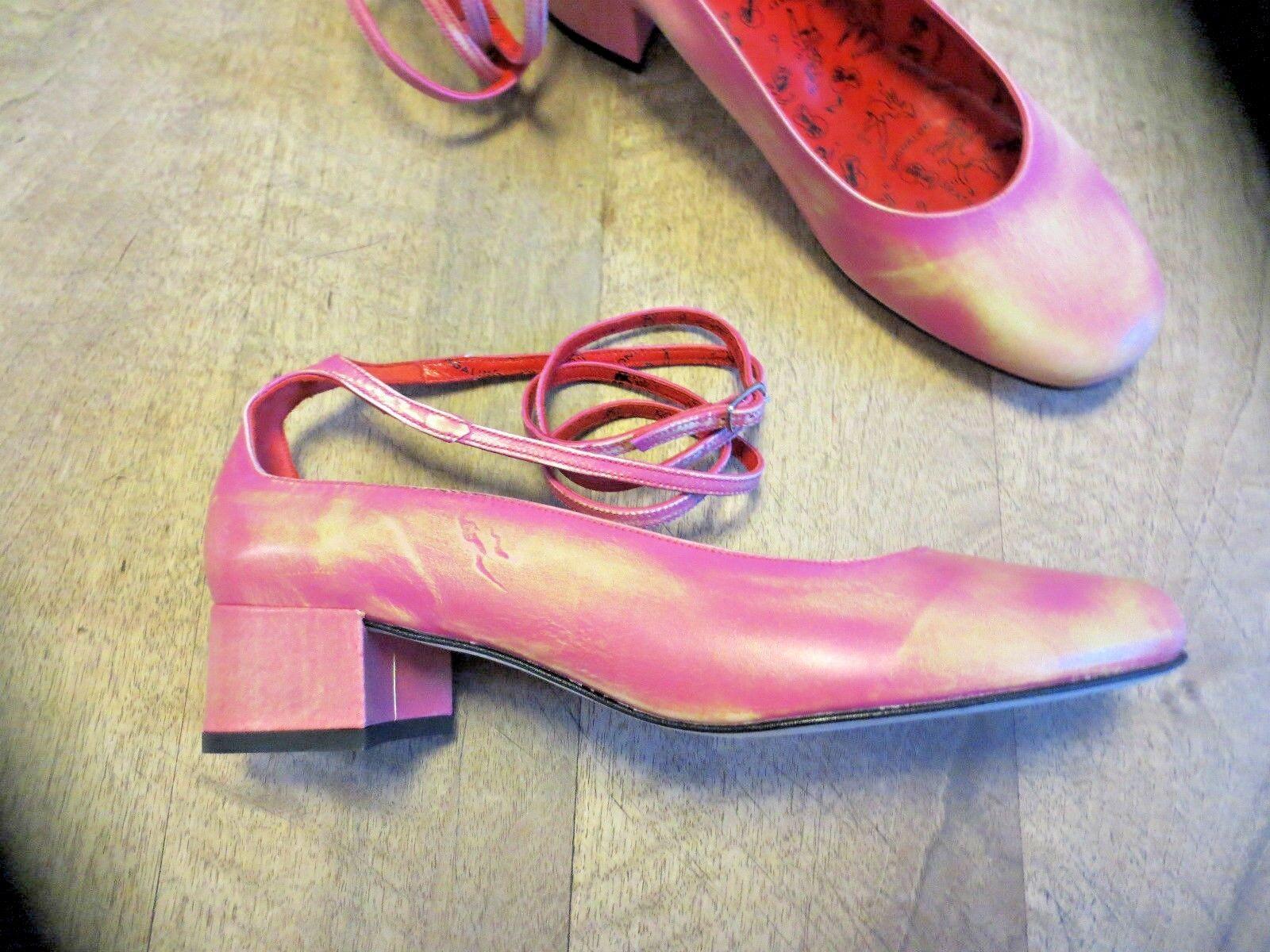 Zapatos de mujer baratos zapatos de mujer Descuento por tiempo limitado FREE LANCE ballerine cuir demasqué fuchia NEUVE Pointures 36.5,38.5