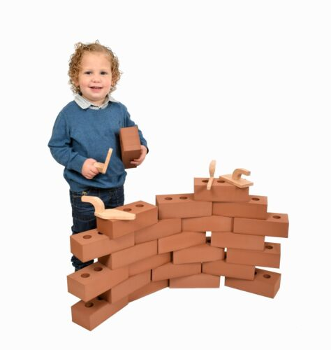 50 x Life size Foam Bricks building real size Blocks Toddler Child Toy Gift Fake
