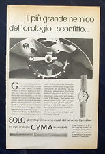 B731-Advertising Pubblicità-1953-CYMA OROLOGI PARACOLPI CYMAFLEX