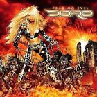 Fear No Evil by Doro (CD, Feb-2009, Dismanic Label Group)