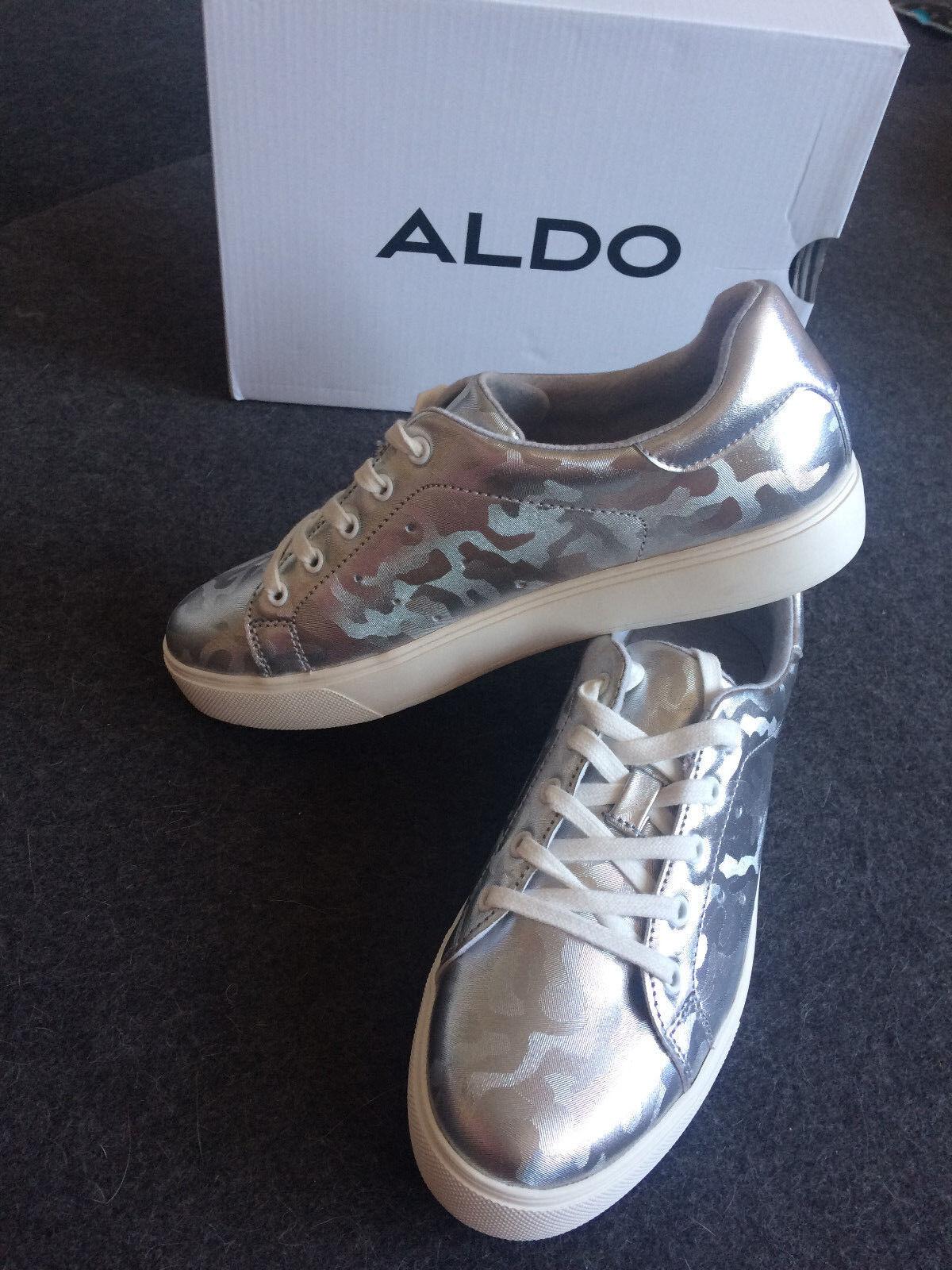 Silberne Camouflage Sneakers 40 ALDO, Gr. 38, 39, 40 Sneakers 311ad6