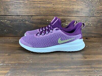 Nike Purple Renew Rival Running Shoes