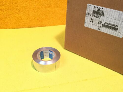 NEW NITTO P-11 HVAC ALUMINUM TIN ADHESIVE TAPE 2 X 180' ROLL