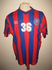 Hajduk Split PLAYER WORN Croatia football shirt soccer jersey trikot size L