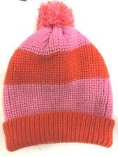8f3637f2854 item 4 New Forever 21 Women s Pom-Pom Beanie One Size Ski Hat Pink Stripe  -New Forever 21 Women s Pom-Pom Beanie One Size Ski Hat Pink Stripe