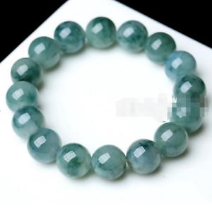 10mm-100-Natural-A-Grade-Green-Jade-Jadeite-Round-Gemstone-Beads-Bracelet