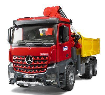 Bru3651 - Mercedes Arocs 6x4 Avec Grue De Déchargement Ech:1/16 - 1/16