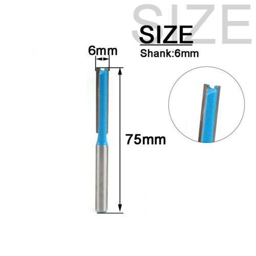 "1//4/""-1//2/"" Trimming Carbide Router Bits Milling Cutter for Woodworking 1//4/"" Shank"