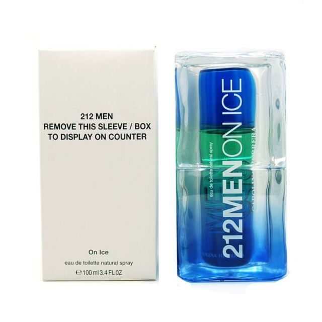 212 Spray Men 3 Rare Ice On 2009 Very Carolina Herrera Blue Edt 4oz For LqpGSUVMz