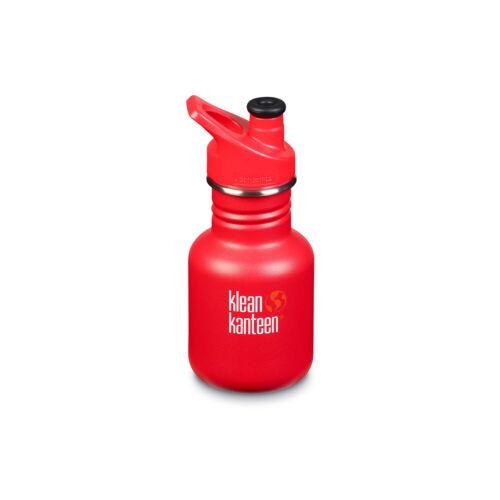 Klean Kanteen Kids Classic Drink Bottle with Spill Proof Sport Cap 12 oz