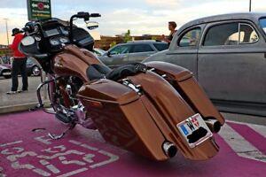 Harley-Davidson Touring Bagger  STRETCHED 7'' hintere  Fender