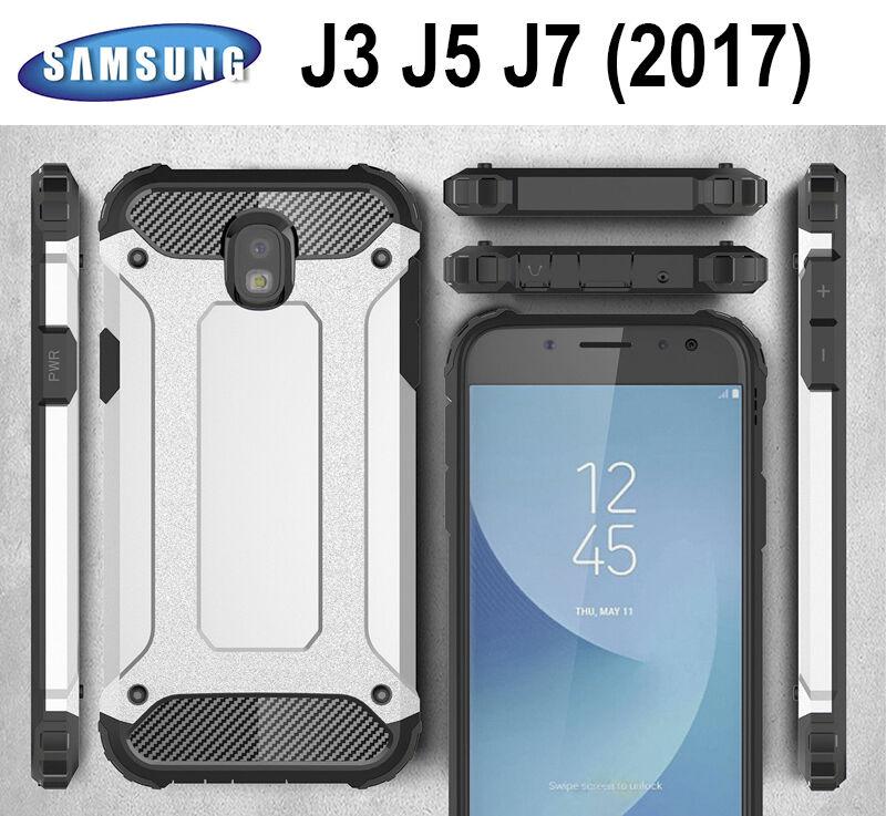 s l1600 - Funda hibrida anti-golpes para SAMSUNG GALAXY J3 J5 J7 2017 protector CALIDAD
