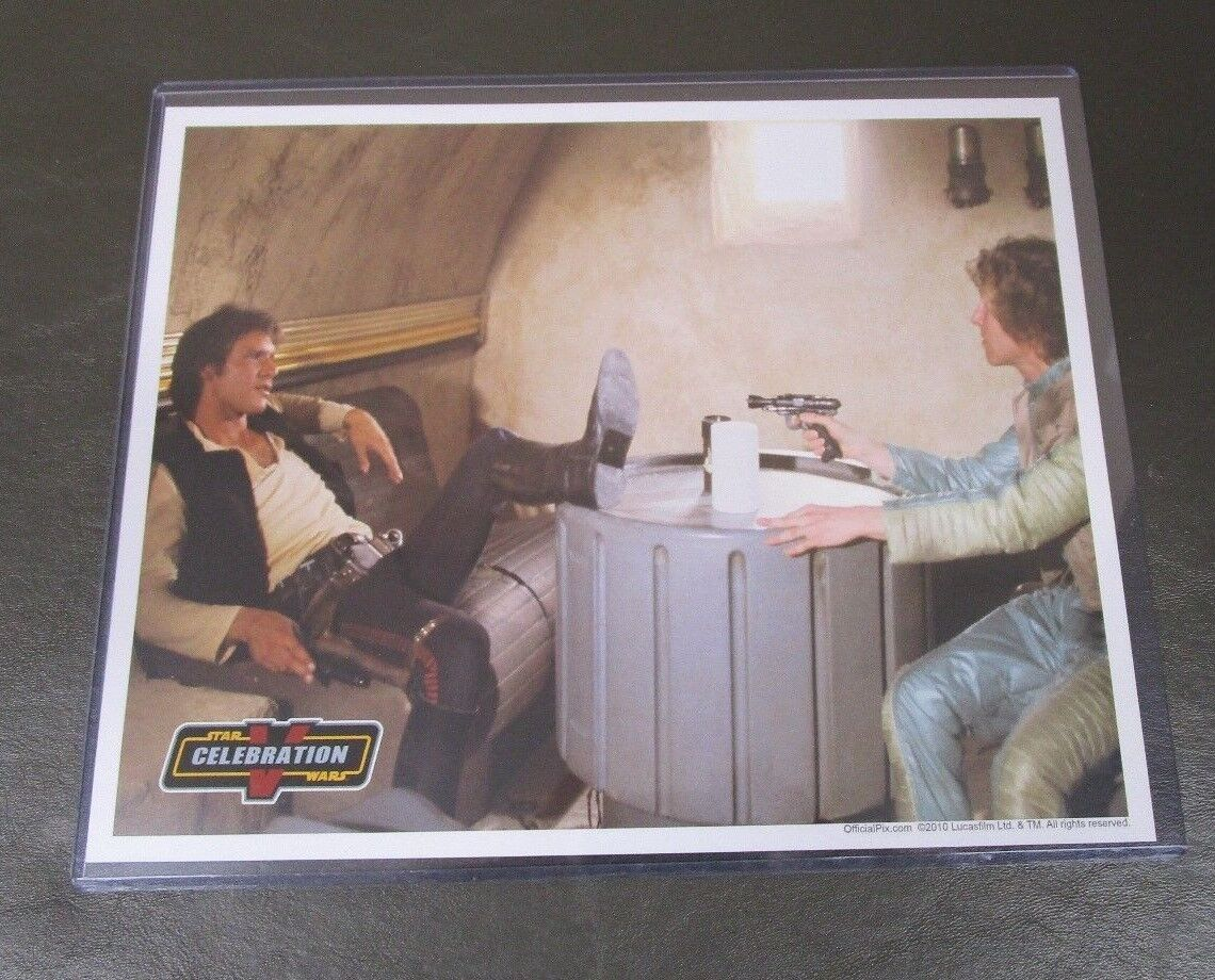 Han Solo Greedo Cantina Celebration STAR WARS 8x10 Licenesed Photo OFFICIAL PIX