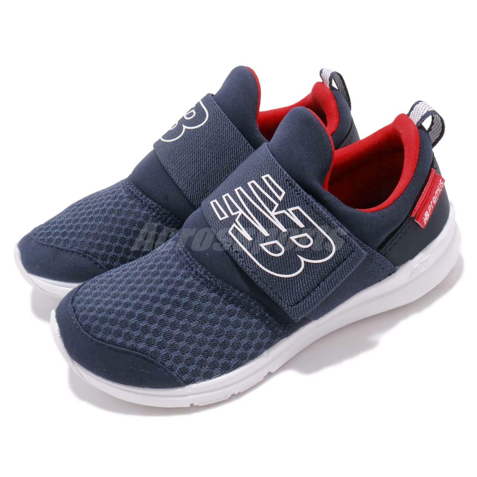 New balance popresnv W W W Ancho Azul Marino Rojo blancoo Niño Preescolar Zapatos Tenis popresnvw  venta mundialmente famosa en línea