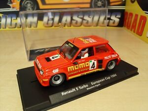 "Fly A1205-renault 5 Turbo ""european Cup 1984' - Brand New In Box-afficher Le Titre D'origine"