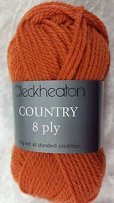 Cleckheaton Country #2315 Citron 50g 100%Pure Wool 8 Ply