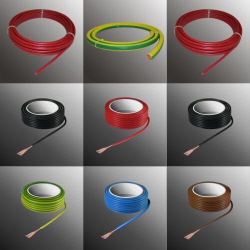 Batteriekabel 70mm² Schaltlitze H07V-K PVC Kabel Litze Einzelader flexibel 70mm²
