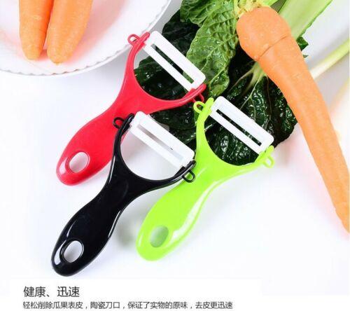 Lot de 2 cuisine éplucheur fruits légumes céramique couverts couteaux patates