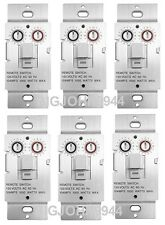 6 PACK X10 WS469 Non-Dimming Pushbutton Relay Switch For Non-Incandescent Loads