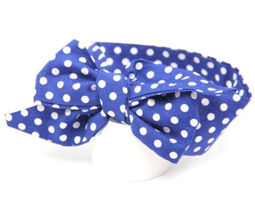 Toddler Baby Girls Big Bow Knot Headband Nylon Hairband Stretch Turban Head Wrap