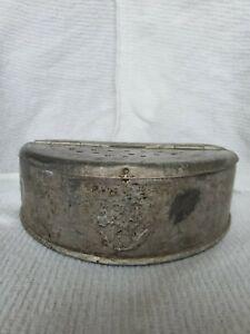 Vintage-Metal-Bait-Box-Old-Pal-Worm-Holder-Fishing