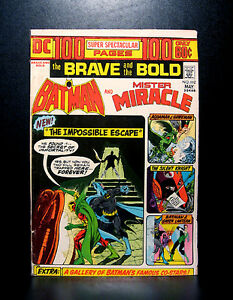 COMICS-DC-Brave-and-the-Bold-112-1974-Batman-Mr-Miracle-100-pages-RARE